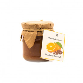 Artisan Orange Jam with chocolate 220 g